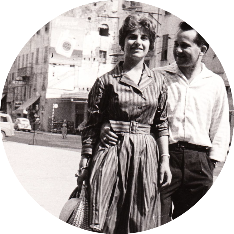 1961THE SHIPYARD IS FOUNDED BY LUIGI AND ANNA SCARANI
