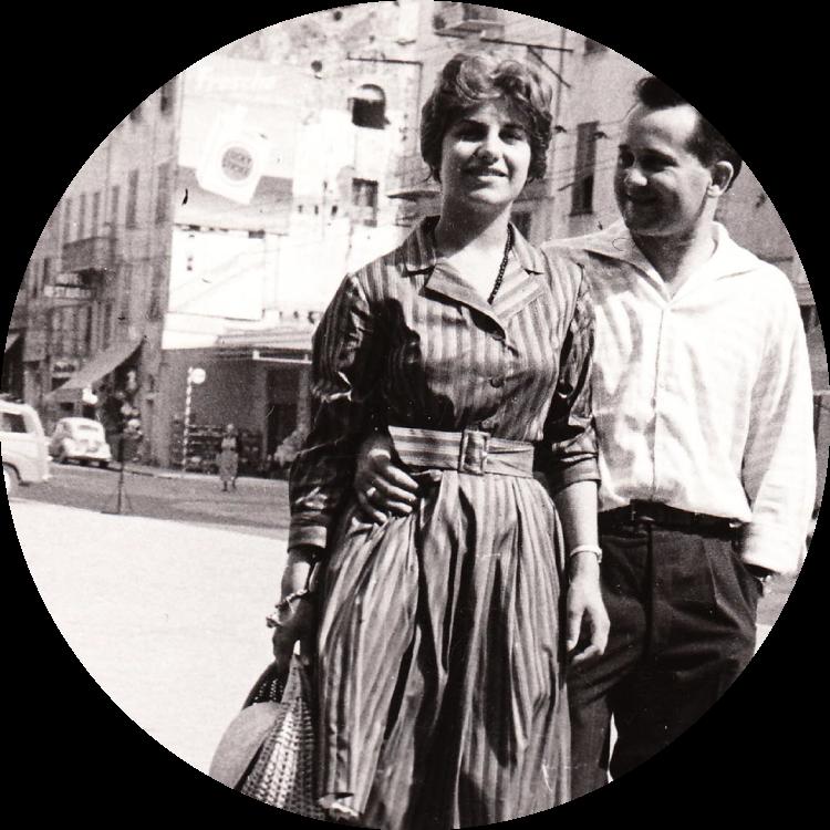 1961 IL CANTIERE VIENE FONDATO DA LUIGI E ANNA SCARANI