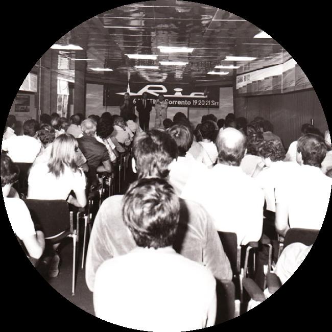 1982EUROPEAN MEETING WITH 440 DEALER